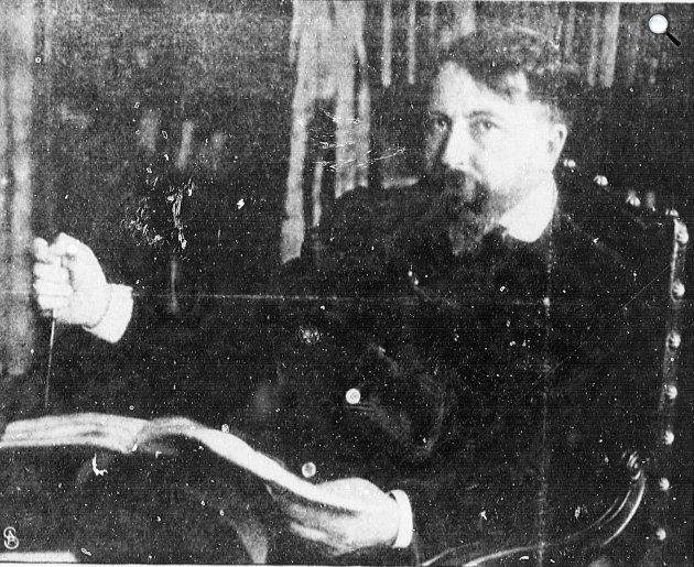 Arthur Schnitzler (1862-1931) osztrák író, drámaíró (Fotó: Ara Hertwig / babelio.com)