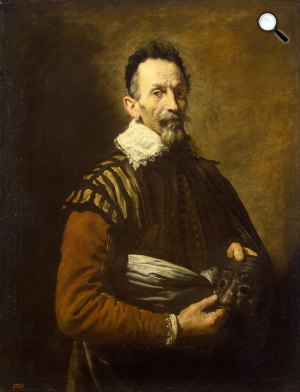 Domenico Fetti: Claudio Monteverdi (1567-1643) zeneszerző (Fotó: Wikipédia)