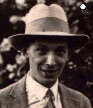Dsida Jenő (1907-1938) költő, műfordító (Fotó: PIM)