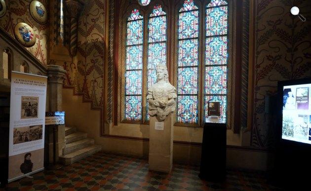 Ferenc József és Erzsébet koronázási kiállítása, Mátyás-templom, Budapest (Fotó: Thaler Tamás)