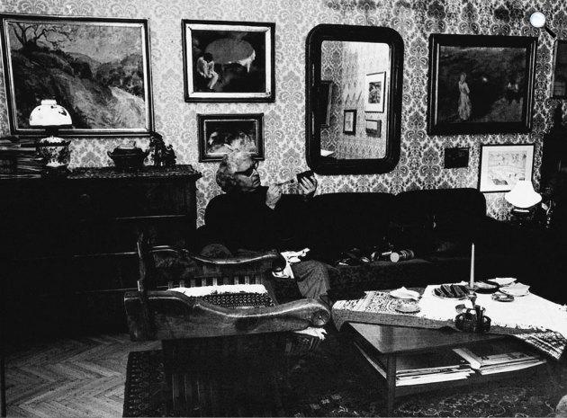 Gink Károly (1922-2002) Balázs Béla-díjas magyar fotóművész, Budapest, 1978 (Fotó: fotomuveszet.net)