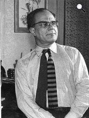 Kassowitz Félix (Kasso) (1907-1983) grafikus, karikaturista (Fotó: lyonker.hu)