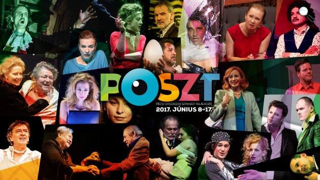 Pécsi Országos Színházi Találkozó (POSZT), 2017 (Fotó: POSZT)