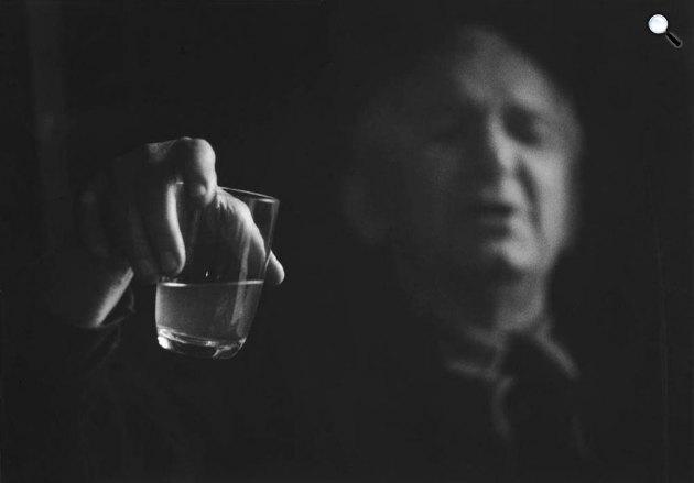 Tersánszky Józsi Jenő (1988-1969) Kossuth-díjas magyar író, 1964 (Fotó: Gink Károly / fotomuzeum.hu)