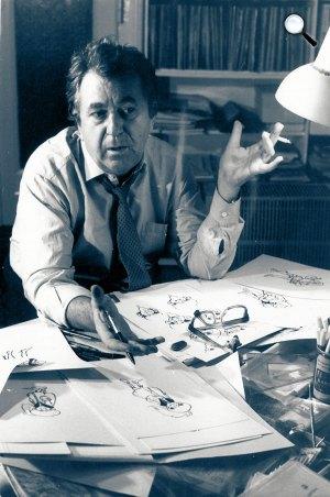 Dargay Attila (1927-2009) rajzfilmrendező (MTI Fotó)