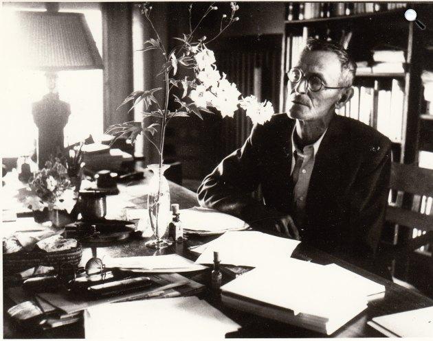 Hermann Hesse (1877-1962) Nobel-díjas író, 1952 (Fotó: babelio.com)