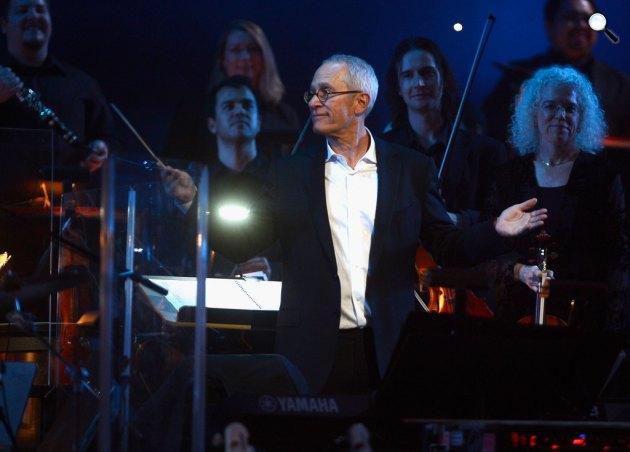 James Newton Howard zeneszerző a Yamaha 125. születésnapi koncertjén (Fotó: listal.com)