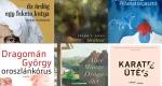 Novelláskötetek (Jászberényi, Szabó T., Tóth, Dragomán, Munro, Nors)