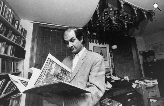 Salman Rushdie író (Fotó: Salman Rushdie/Twitter)