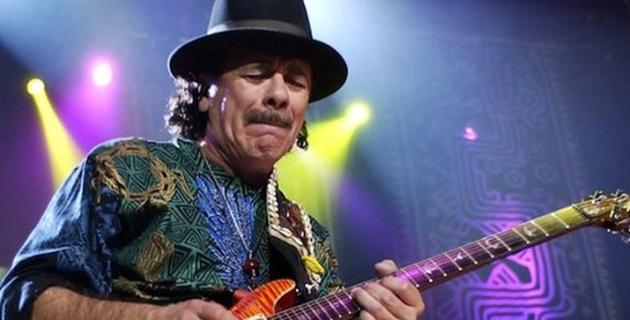 Carlos Santana 70