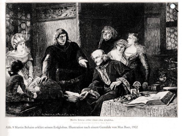 Martin Behaim (1459-1507) kutató, kalandor a világ legrégibb földgömbjének megalkotója (Fotó: Wikipédia)