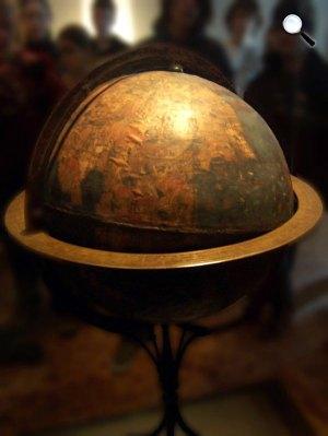 A Behaim-glóbusz, a világ 1492-ből fennmaradt legrégibb földgömbje (Fotó: Wikipédia)