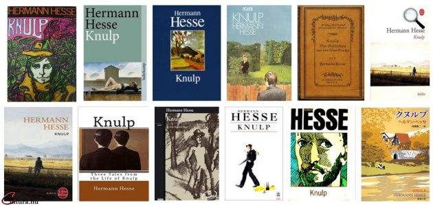 Hermann Hesse: Knulp - borítók (Fotó: cultura.hu)