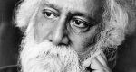Rabindranáth Tagore (1861 - 1941) Nobel-díjas bengáli nyelvű indiai író, költő (Fotó: babelio.com)