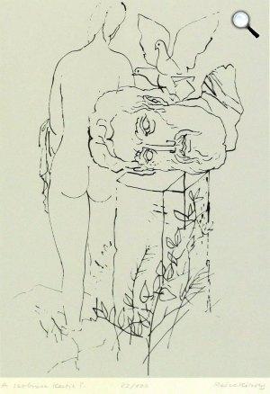 Reich Károly: A szobrász kertje (Fotó: Savaria Galéria)