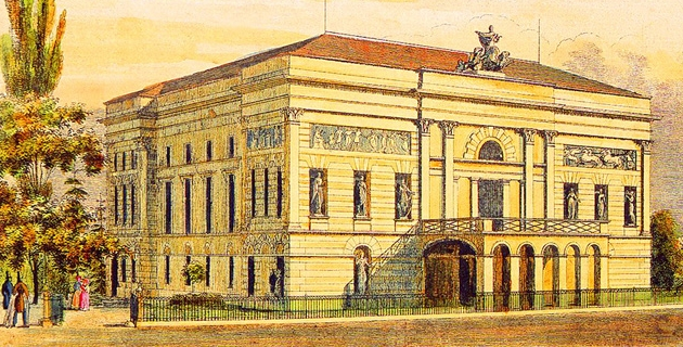 Pest első állandó magyar színháza
