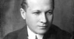 Gellért Oszkár (1882-1967) költő, a Nyugat szerkesztője (1926 (Fotó: Máté Olga / PIM)