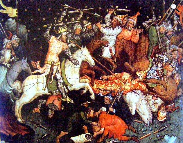 I. (Nagy) Lajos győzelme a törökök felett Bulgáriában, 1320 (Fotó: Magyar Anjou Legendárium / OSZK)