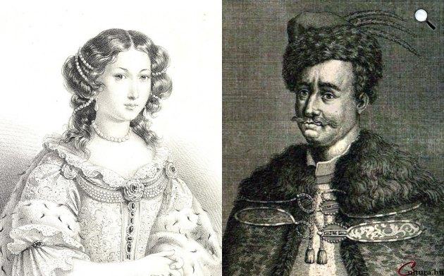 Zrínyi Ilona (1643-1703) és Thököly Imre (1657-1705) (Fotó: OSZK, cultura.hu)