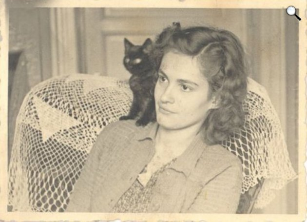 Polcz Alaine (1922-2007) író, pszichológus (Fotó: PIM)