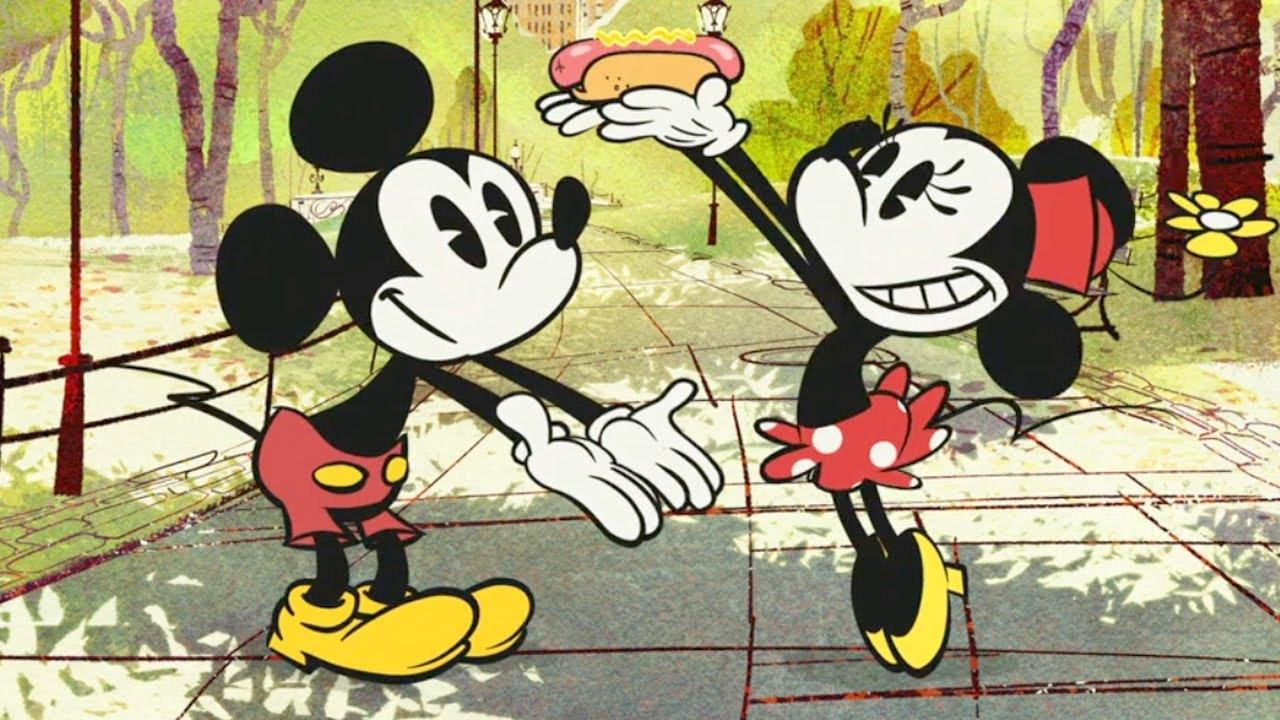 34868d9dd1 New York Weenie - Mickey egér és Minnie ...