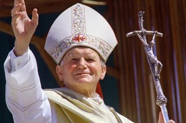 II. János Pál pápa 100
