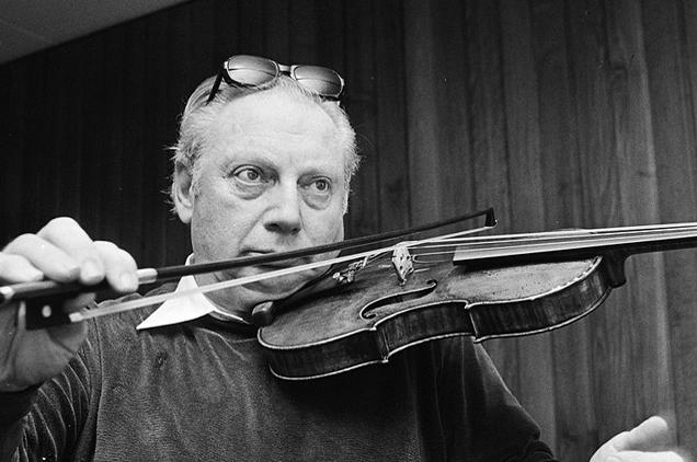 Isaac Stern, a hegedűművész
