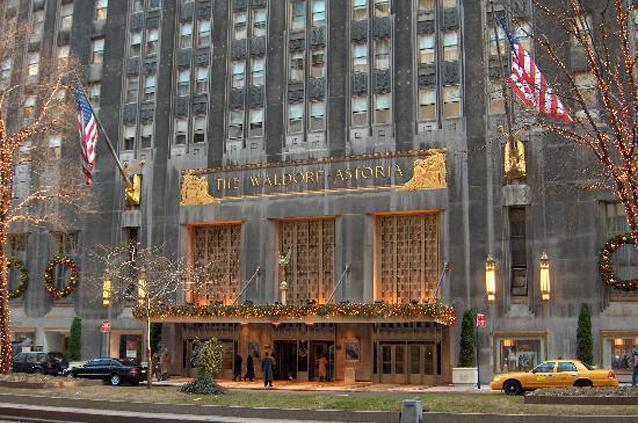 Egy kőből épült legenda: Waldorf-Astoria