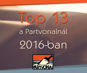 Top 13 a Partvonalnál 2016-ban