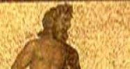 Hippokrátész, Aszklépiusz és Kos, mozaik