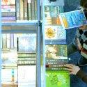 A 22. Budapesti Nemzetközi Könyvfesztivál 2015-ben. (MTI Fotó: Kovács Tamás)