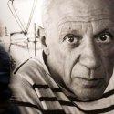 Picasso fotója a Picasso - Alakváltozások, 1895-1972 című tárlat (MTI Fotó: Szigetváry Zsolt)